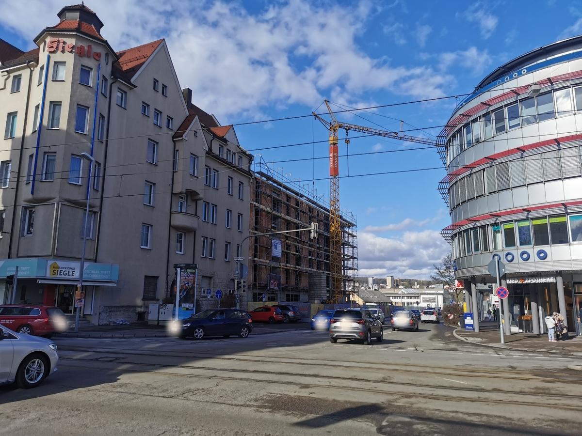 Ulm, Quartier Söflingen Februar 2021