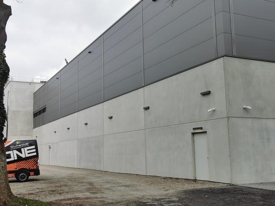 Neu-Ulm, Orange Campus, März 2021