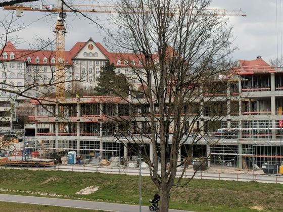 Ulm, Neubau, April 2021