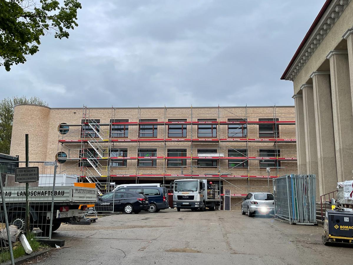Ulm, Neubau, Siedlungswerk, Mai 2021