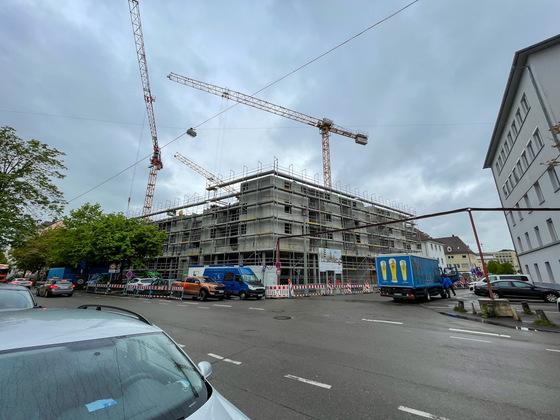 Ulm, Neubau, Söflinger Straße 120/124, Mai 2021