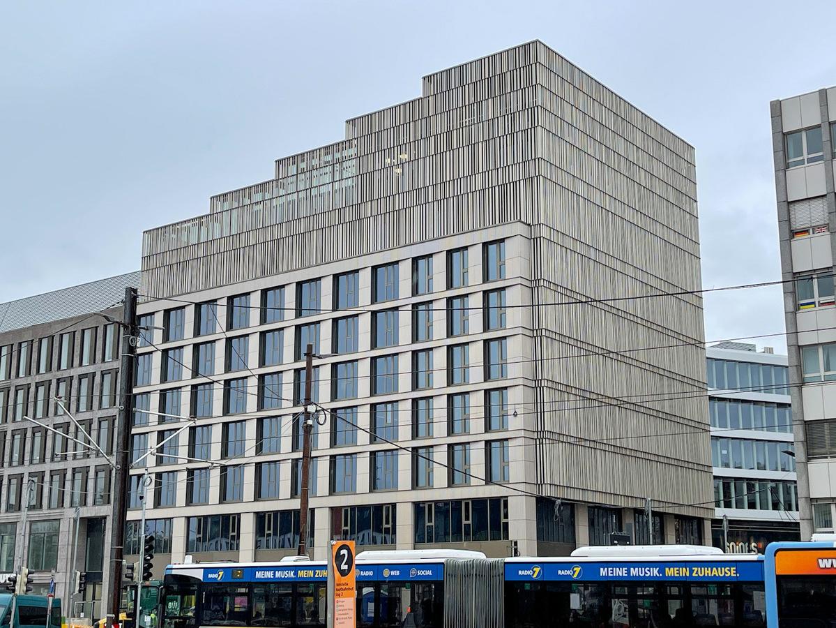 Ulm, Neubau, Bahnhofstraße, Mai 2021