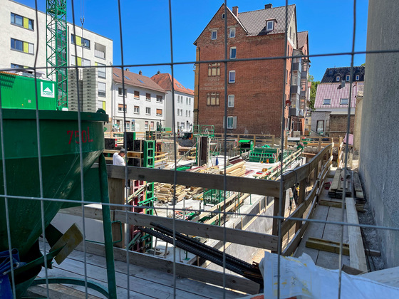 Ulm, Neubau, Karlstraße, Juni 2021