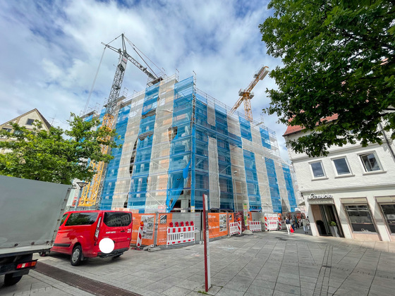 Ulm , Hotel am Münsterplatz, Juni 2021