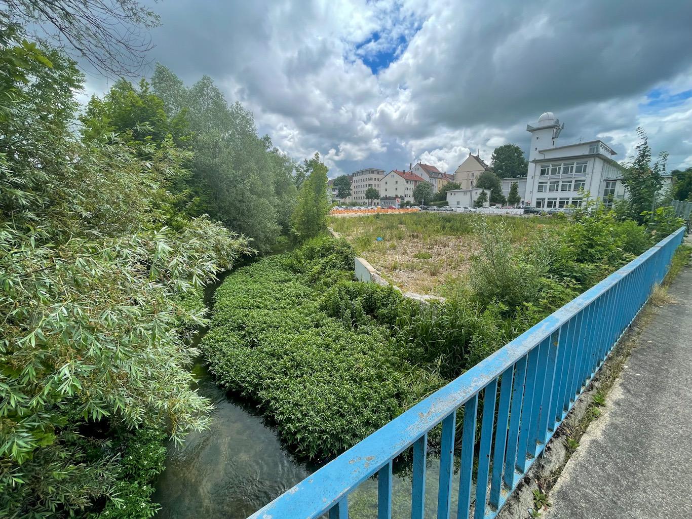 Ulm, Neubau, Kleije Blau, Juni 2021