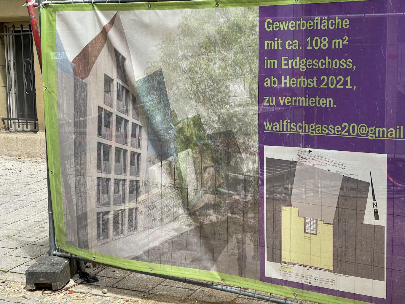 Ulm, Neubau, Walfischgasse, Juni 2021