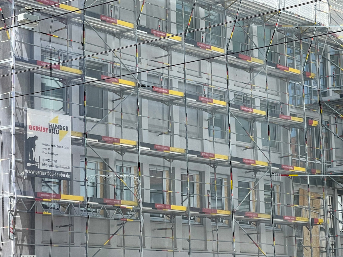 Ulm, Sanierung , Olgastraße, Juli 2021