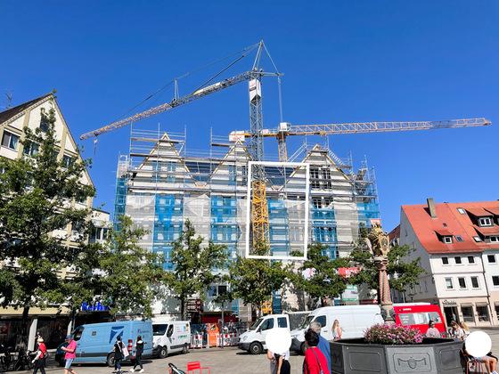 Neubau Hotel am Münsterplatz September 2021