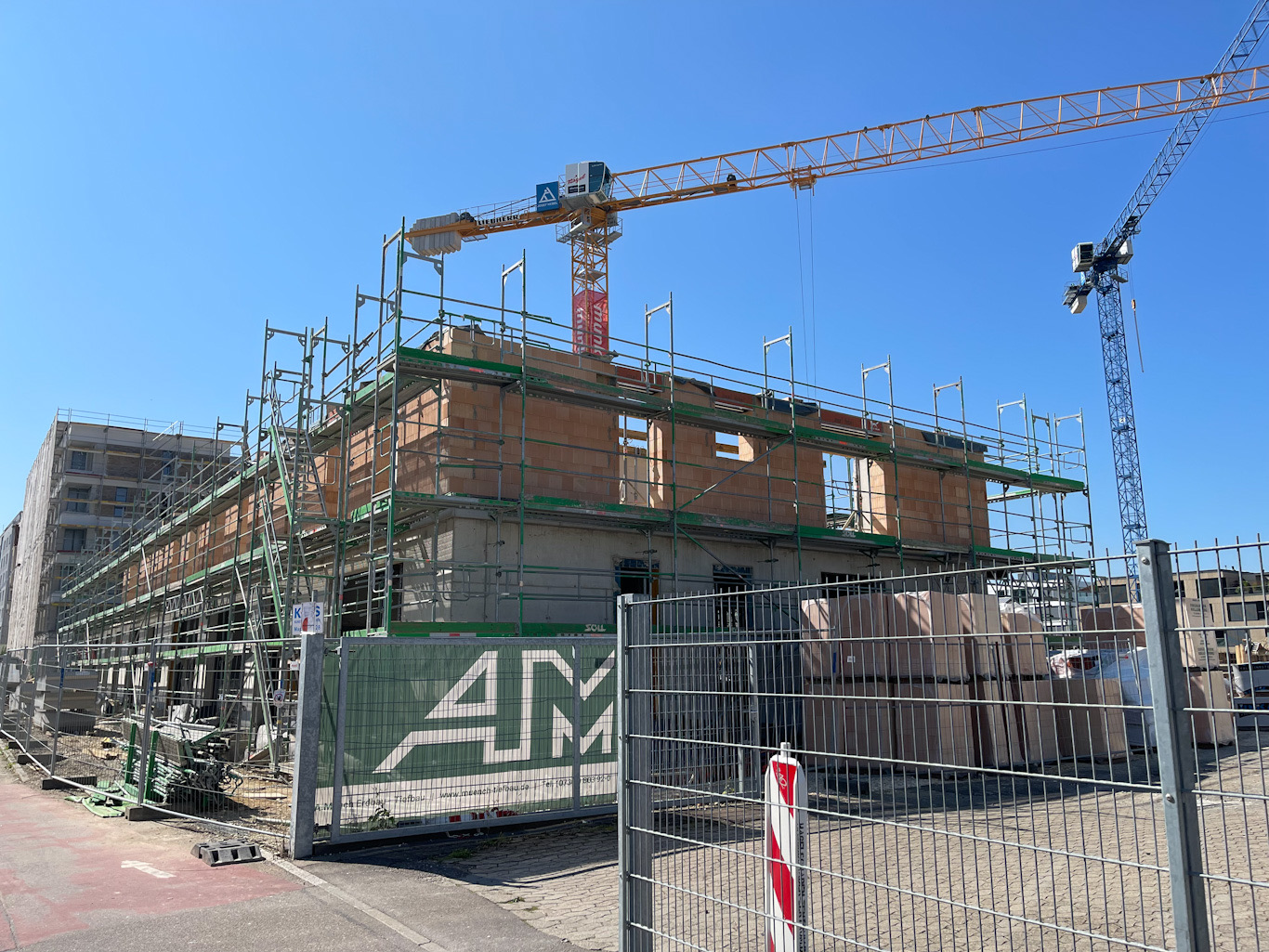 Ulm, Neubau, Quartier Söflingen, September 2021