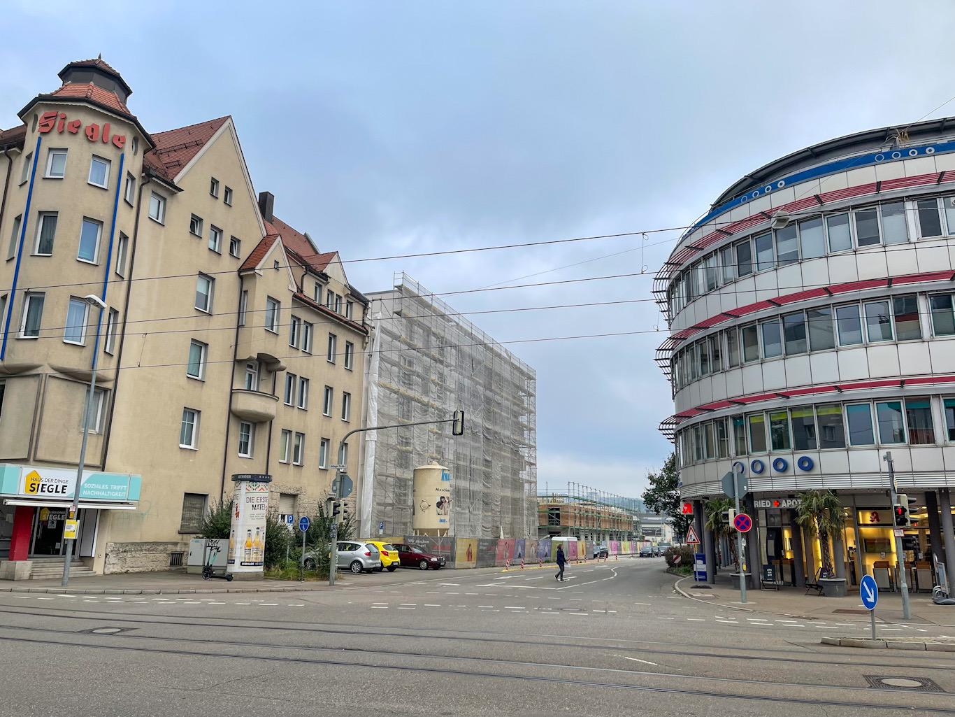 Ulm, Neubau, Quartier Söflingen, Oktober 2021
