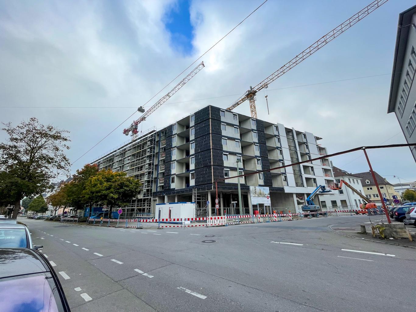 Ulm, Neubau, Oktober 2021