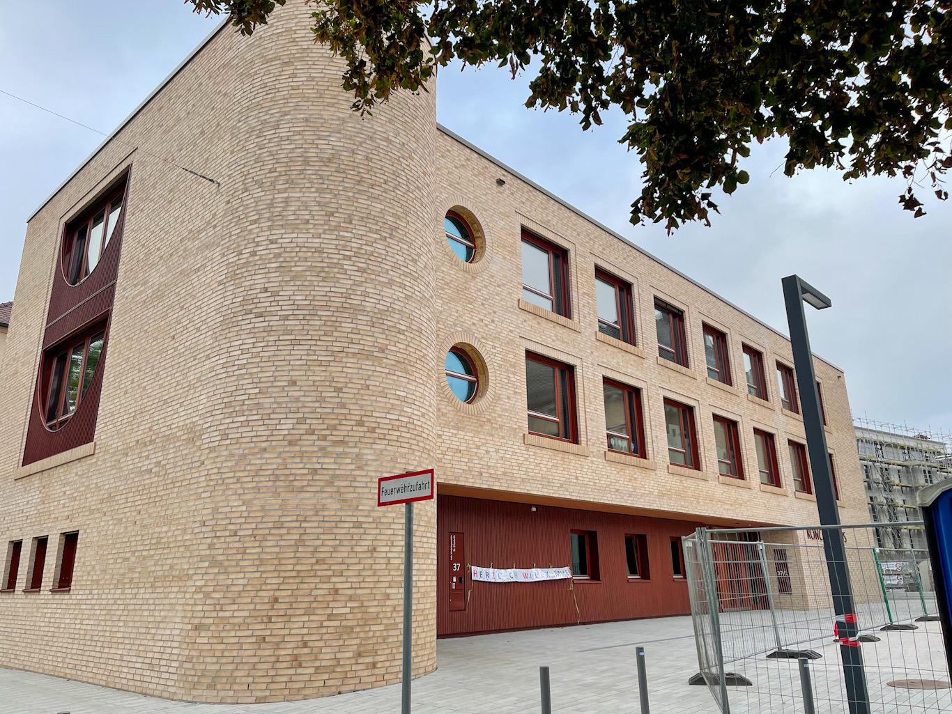Ulm, Neubau, Siedlungswerk, Oktober 2021