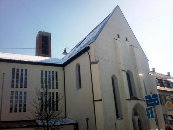 Ulm Neuer Kirchturm Wengenkirche