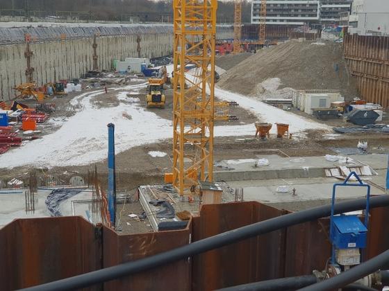 Neu Ulm, Südstadtbogen, Neubau, Dezember 2019