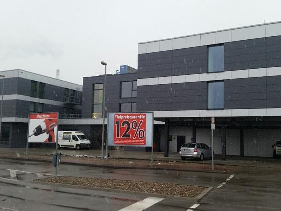 Ulm Blaubeurer Straße Neubau Hotel Januar 2015 1