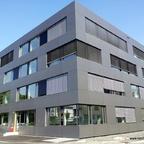 Ulm Neubau Wicona  Bürogebäude-Ensemble Businesspark  Weststadt Einsteinstraße August 2013 (9)