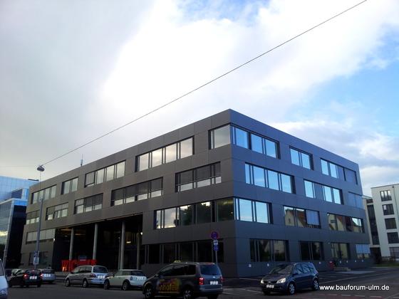 Ulm Neubau Wicona  Bürogebäude-Ensemble Businesspark  Weststadt Einsteinstraße August 2013 (11)