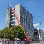 Ulm Abriss Justizhochhaus Juli 2017