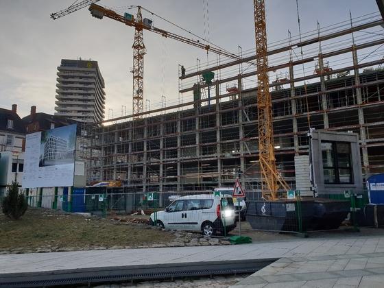 Ulm, Neubau, Erweiterung Landratsamt, Januar 2019