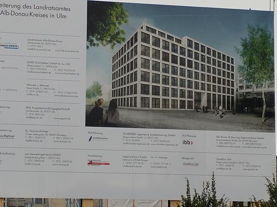 Ulm | Neubau Erweiterung des Landratsamtes | Dezember 2018