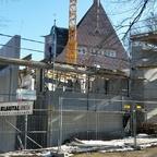 Ulm Neubau Gemeindehaus für die Reformationsgemeinde Februar 2015 1