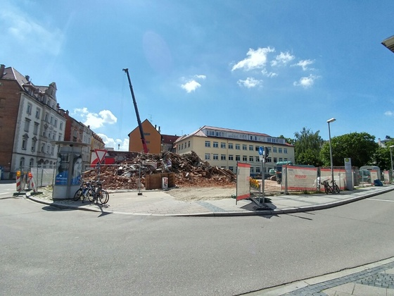 Abriss Ehinger Straße 23
