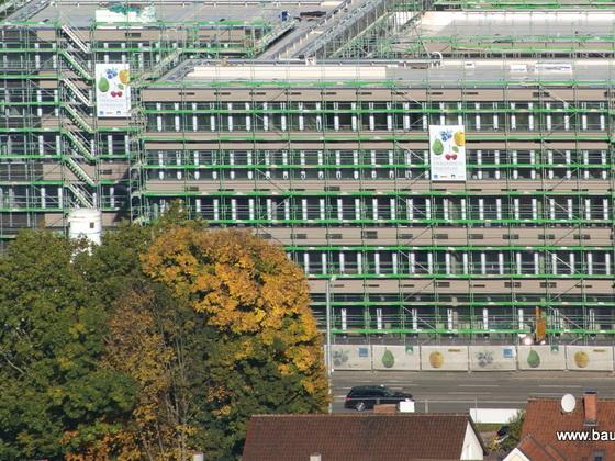 Ulm  Neubau  Hotel  Neutorstraße Oktober 2012