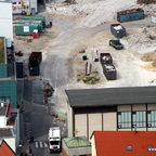 Ulm Wohn- und Einkaufsquartier Sedelhöfe  Abriss der Bestandsbebauung August 2013 (3)