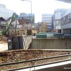 Ulm Wohn- und Einkaufsquartier Sedelhöfe  Abriss der Bestandsbebauung Februar 2013 (2)