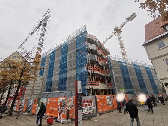 Ulm, Hotel, Münsterplatz, Dezember 2020