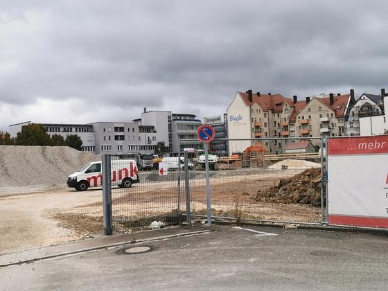 Ulm Magirusstraße Neubau September 2019