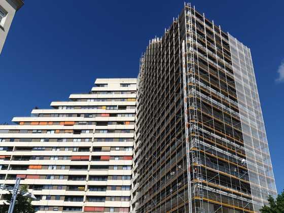 Neu Ulm, Donau Center, Sanierung