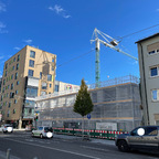 Ulm, Neubau, Karlstraße, Oktober 2021