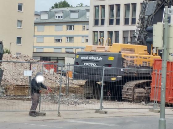 Ulm Justizzentrum Olgastraße September 2017