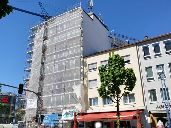 Ulm Marienstraße 2 Mai 2017