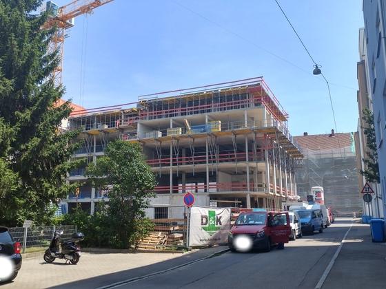 Ulm Neubau Wilhelmstraße