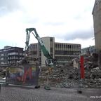 Ulm Wohn- und Einkaufsquartier Sedelhöfe  Abriss der Bestandsbebauung April 2013 (5)