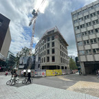 Ulm, Neubau, Apotheke Ärztehaus, Juni 2021