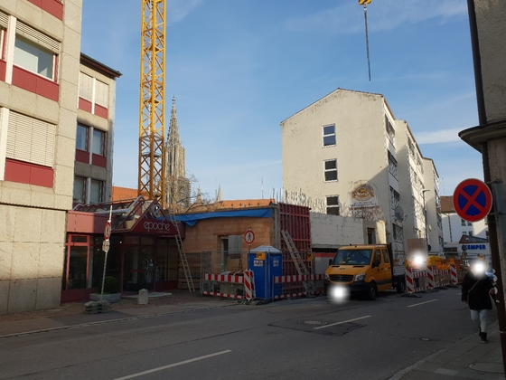 Ulm, Neue Straße 44, Januar 2019, Neubau