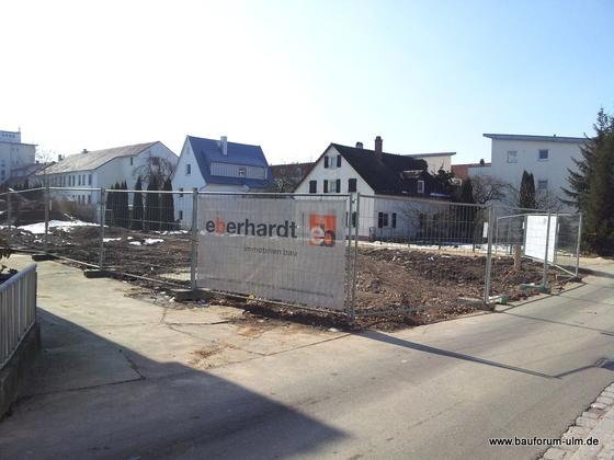 Ulm Neubau Griesgasse 21 bis 27 März 2013 (1)