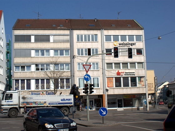 Ulm Wohn und Geschäftshaus  Frauenstraße  Neue Straße Schlegelgasse (37)
