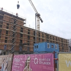 Ulm, Neubau, Quartier Söflingen, März 2021