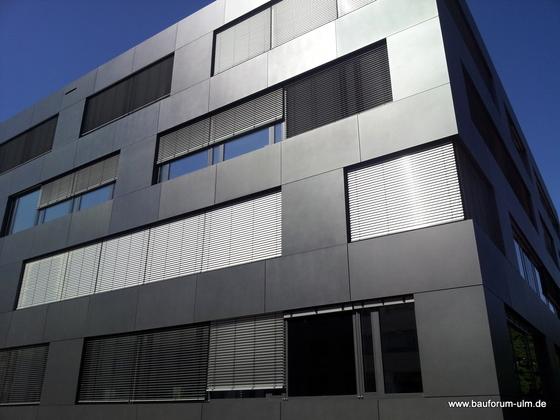 Ulm Neubau Wicona  Bürogebäude-Ensemble Businesspark  Weststadt Einsteinstraße August 2013 (8)