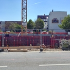 Neubau Elisabethenstraße 18 April 2017