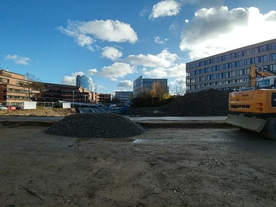 Neubau UWS Wichernstraße Bachstraße November 2017