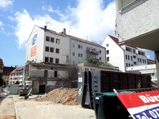 Ulm Wohn und Geschäftshaus  Frauenstraße  Neue Straße Schlegelgasse (6)