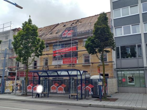 Neubau am Petrusplatz Neu Ulm