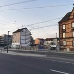 Ulm, Neubau, Karlstraße, Neutorstraße, April 2020