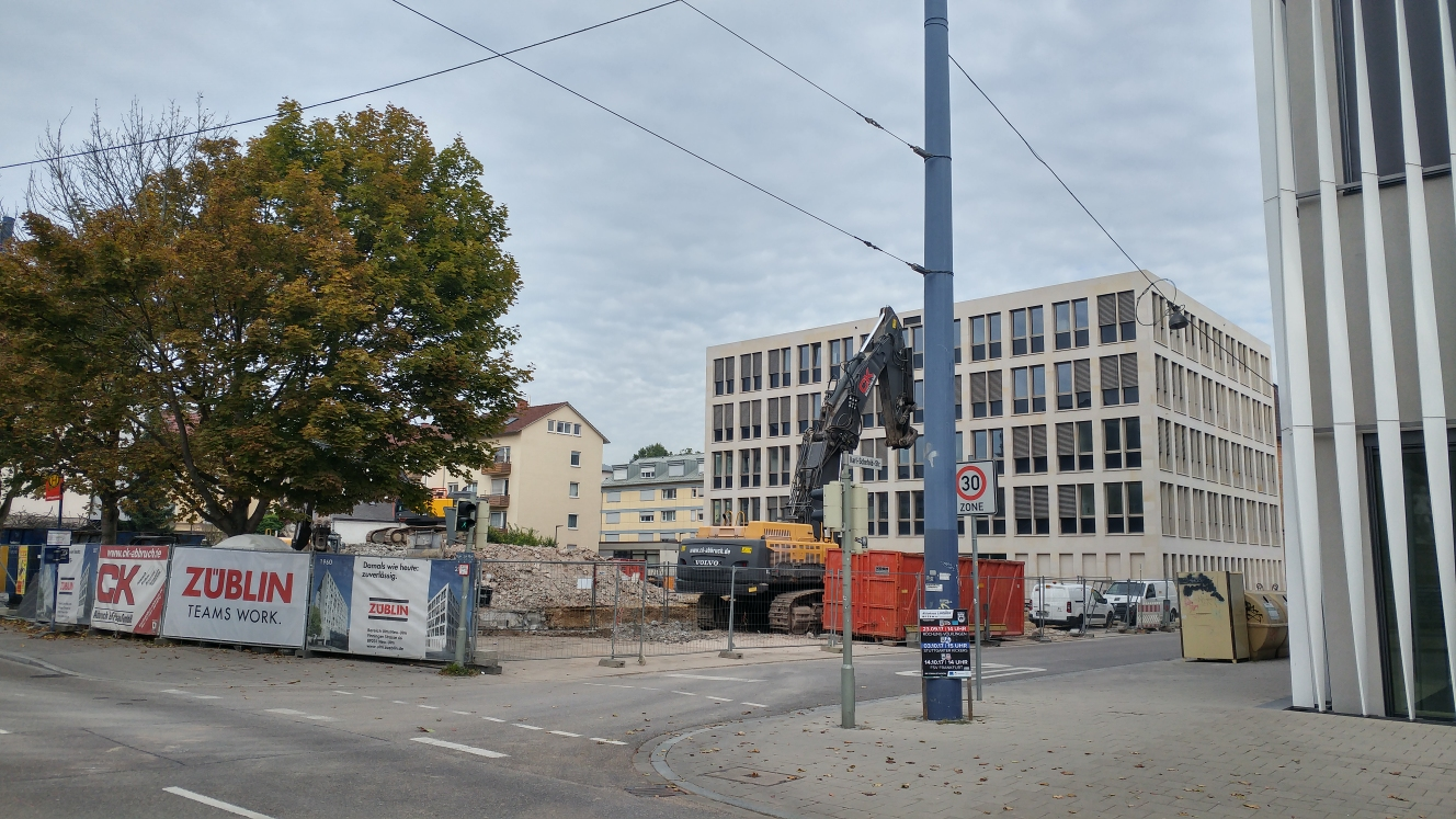 Ulm Justizzentrum Olgastraße September 2017