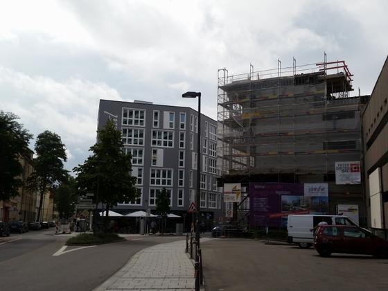 Neu Ulm Krankenhausstraße Wohnen Leben Arbeiten im Konzertsaal September 2014 (2)